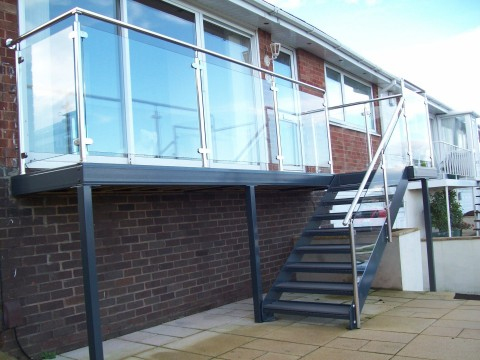 SOLD : Manufacturer & Installer of Bespoke Steel and Glass Balustrades & Balconies, Gates, Railings, Handrails, Etc. - South Devon